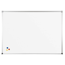 Best-Rite 2H2NM Porcelain Steel Whiteboard with ABC Trim