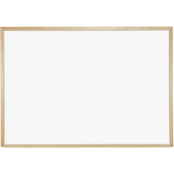 Best-Rite M202WD Porcelain Steel Whiteboard with Wood Trim