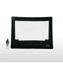 Open Air Cinema Elite 23%27 Diag. (20%27x11%27) Portable Inflatable Large Venue Projector Screen