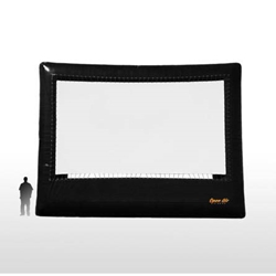 Open Air Cinema Elite 29%27 Diag. (25%27x14%27) Portable Inflatable Large Venue Projector Screen