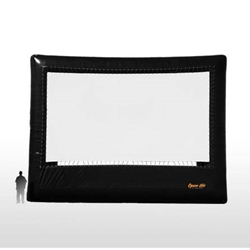 Open Air Cinema Elite 34.5%27 Diag. (30%27x17%27) Portable Inflatable Large Venue Projector Screen