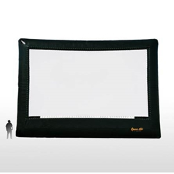 Open Air Cinema Elite 46%27 Diag. (40%27x22.5%27) Portable Inflatable Large Venue Projector Screen
