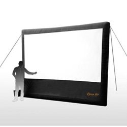 "Open Air Cinema Home 166"" Diag. (12x7) Portable Inflatable Projector Screen Open Air Cinema,H12,H 12,H12,H-12,H 12,H12,H-12"