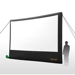 "Open Air Cinema Home 220"" Diag. (16x9) Portable Inflatable Projector Screen Open Air Cinema,H16,H 16,H16,H-16,H 16,H16,H-16"