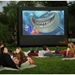 "Open Air Cinema Pro 166"" Diag. (12'x7') Portable Inflatable Projector Screen - P-12"