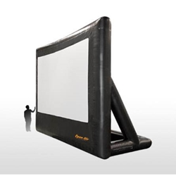 "Open Air Cinema Pro 220"" Diag. (16%27x9%27) Portable Inflatable Projector Screen"