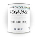 Projector Screen Paint - Remaster Vinyl Screen - Restore and Renew - Grey - Gallon