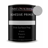 Paint on Screen ADHESIVE PRIMER for Slick Surfaces like Glass, Plastic or Metal - Gallon