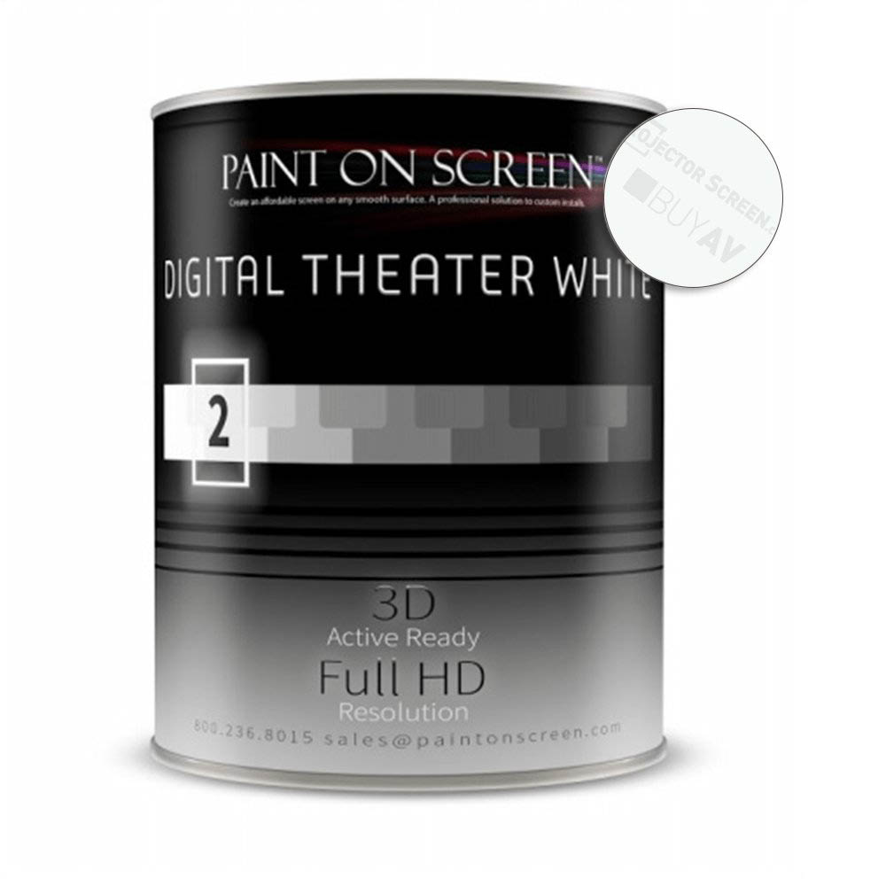 Paint On Screen G002 Theater White Projector Screen Paint