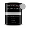 Paint on Screen LEVELING PRIMER for any Un-Smooth Surfaces like Drywall, Wood, or Masonry - Gallon