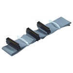 QVS CC2212-2 32 Inches SCSI HPDB50 (MicroD50) Dual Drives Ribbon Cable