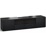 Salamander Designs Chicago 245 Cabinet for integrated Hisense UST Projector - Black Oak - X/HSE245CH/BO