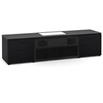 Salamander Designs Chicago 245CH Cabinet for integrated Samsung LSP7T UST Projector - Black Oak, Black Top - X/SMG7/245CH/BO