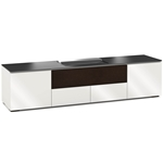 Salamander Designs Miami 245 Cabinet for integrated Hisense UST Projector - Gloss White - X/HSE245MM/GW