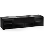 Salamander Designs Oslo 245 Cabinet for integrated Hisense UST Projector - Black Glass - X/HSE245OS/BG