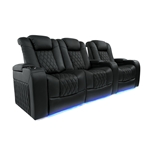 Valencia Tuscany Motorized Home Theater Seating - Top Grain Leather
